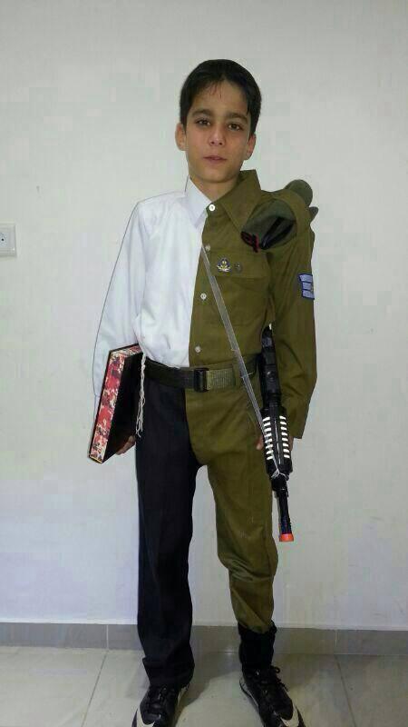 yeshiva soldier costume